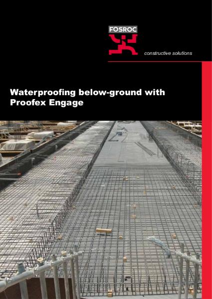 Fosroc Proofex Engage brochure UK1213