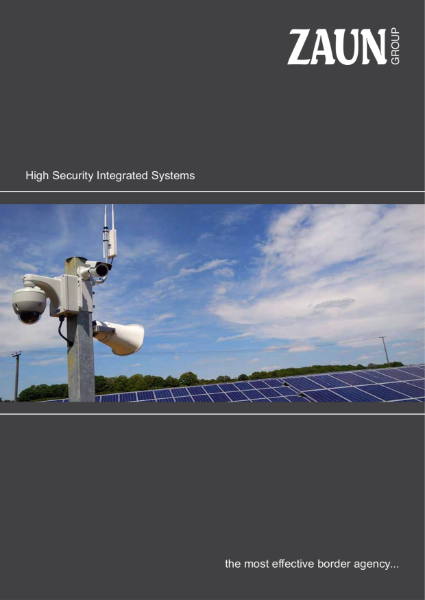 Integrated High Security Perimeter Systems