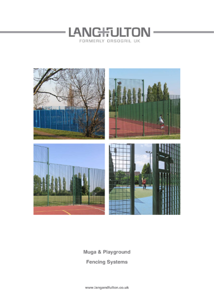 MUGA and Playground Fencing Systems
