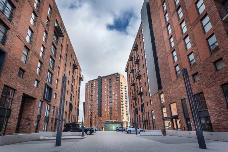 High rise development Manchester
