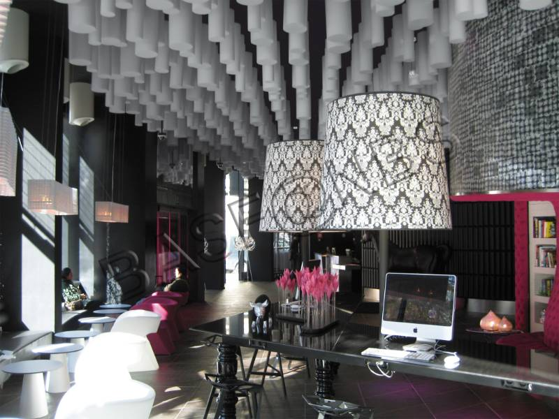 Acoustic insulation in Spanish design hotel