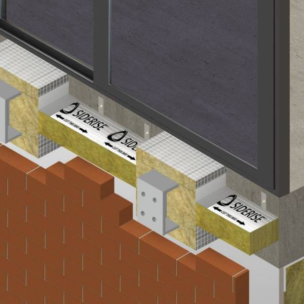 SIDERISE BB-CB Balcony Bracket-Cavity Barriers