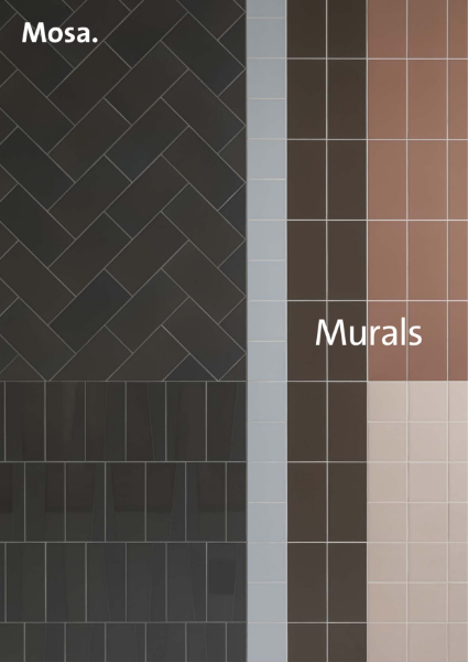 Mosa Murals - A ceramic wall layered across multiple dimensions