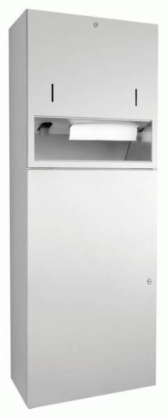 DP4116 Dolphin Prestige Combination Paper Towel, Soap Dispenser and Waste Bin