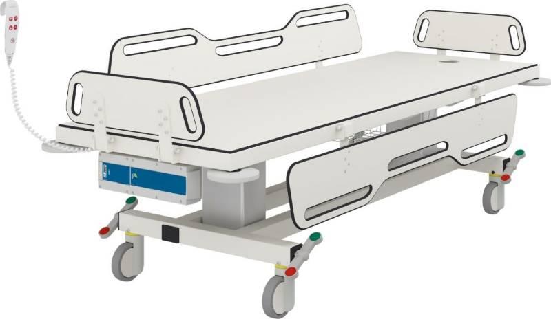 Mobile Shower Change Trolley R9454721 - 2190 mm Long