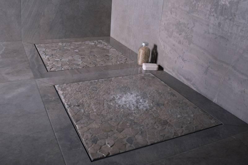 Square - Shower drain