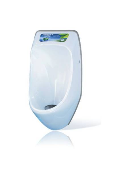 Urimat Ecovideo Waterless Urinal c/w MB ActiveTrap
