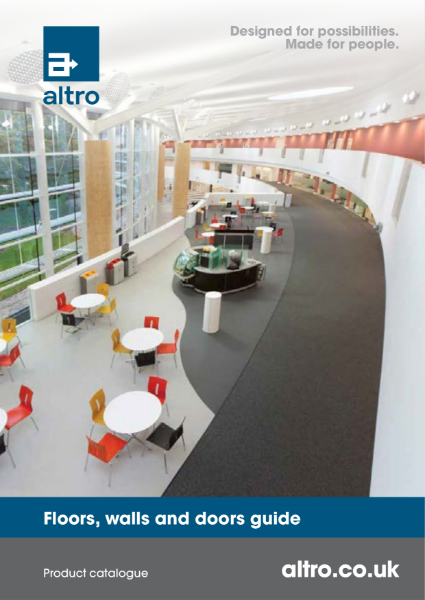 Altro Product Catalogue - Floors, Walls and Doors Guide