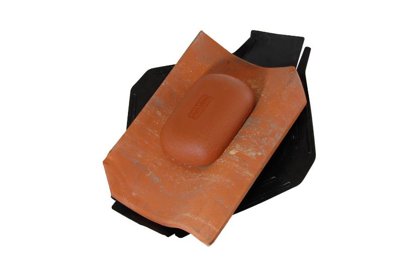 4.5k Thruvent Old Hollow Clay Pantile - Vent tile