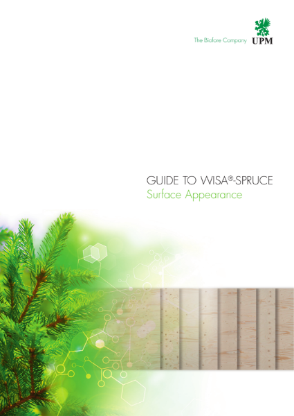 WISA-Spruce surface appearance guide