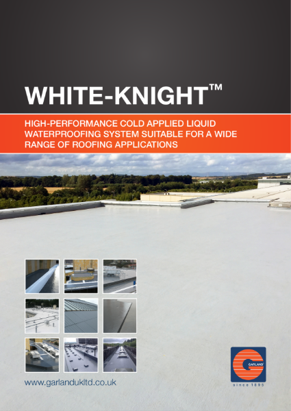 White-Knight Cold Applied Liquid Waterproofing System - Garland
