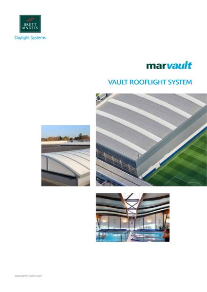 Vault Rooflight System - Marvault