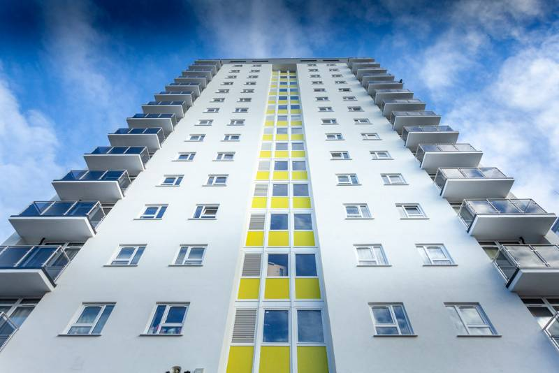 Profile 22's Windows and Doors deliver thermal efficiency to tower block residents