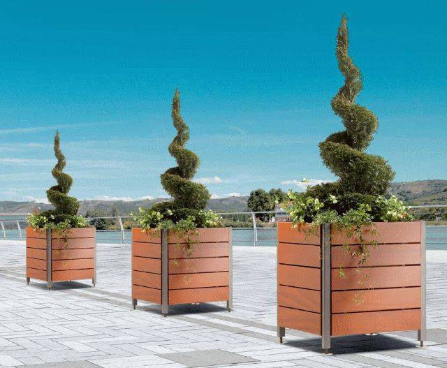 Sineu Graff Optima Timber Planter