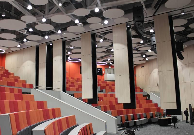 Breath-taking Stepped Divide for University Auditorium