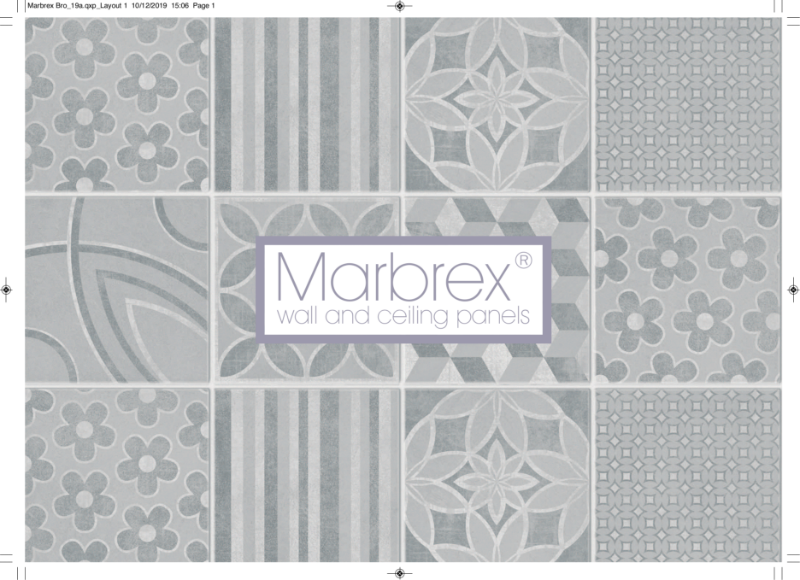 Marbrex Wall & Ceiling Panels Brochure