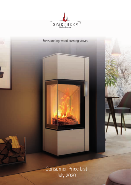 Spartherm freestanding wood stoves price list 2020