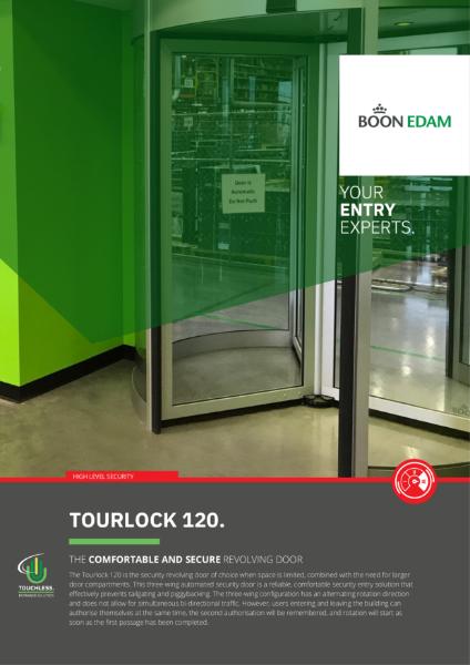 Tourlock 120 Security Revolving Door