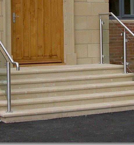 Steps - Bullnose, Square Edge and Bespoke