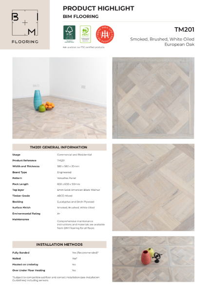 Product Highlight - Versailles Parquet TM201