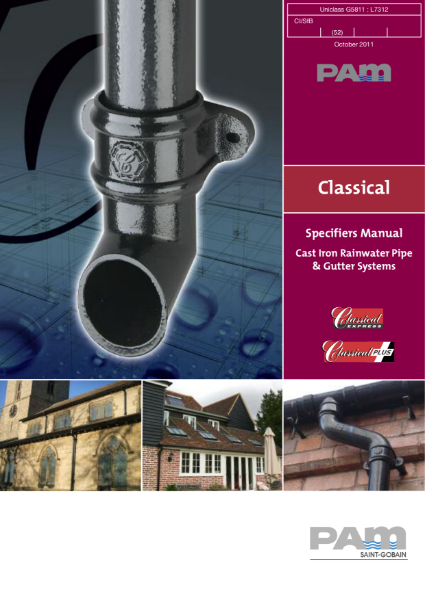 Classical specifiers manual