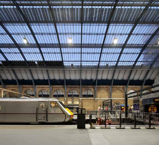 Kings Cross Station Patent Glazing