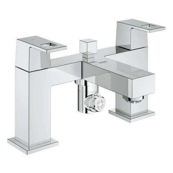 "Eurocube Two-Handle Bath/ Shower Mixer 1/2"""