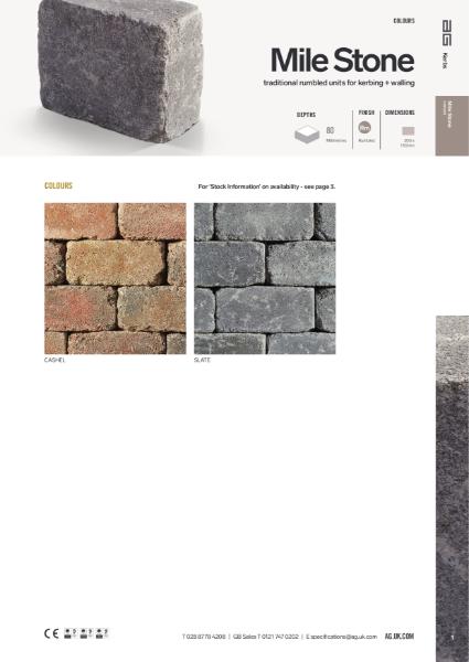 Mile Stone Data Sheet