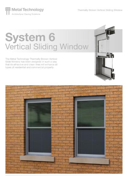 Aluminium Vertical Sliding Window