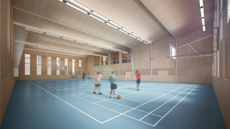 Optimal Acoustics in Kings Cross Sports Facility