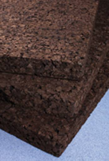 Agglomerated composition cork tiles