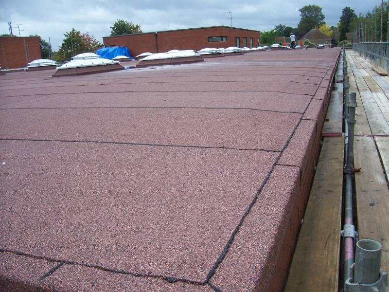 An Excellent Example of Best Practice in Built-Up Felt Roofing Design and Installation