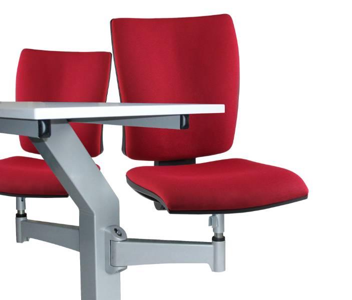 Inova 'Turn & Learn'Seating Double with Twin Desk