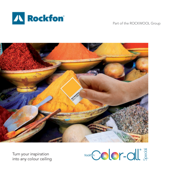 Colourful Acoustic Ceilings from Rockfon