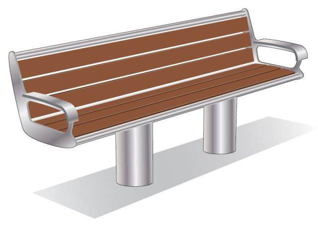 ASF 6012 Stainless Steel Seat