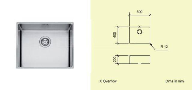 Sink Bowl A50
