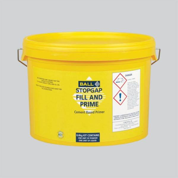 Stopgap Fill and Prime