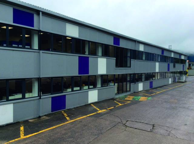 CCS Building Refurbishment - Hemsec External