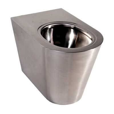 Stainless Steel Floor Standing BTW WC 500