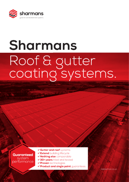 Sharmans roof and gutter coating systems