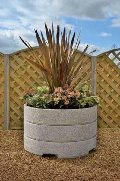 Monoscape Concrete Planters