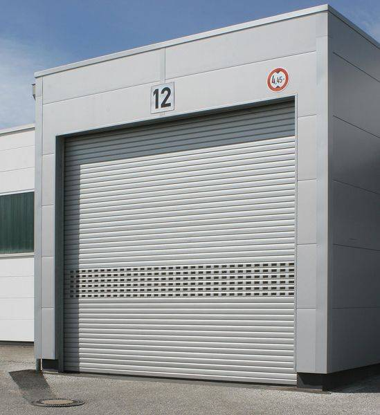 S76 Elite Perforated Steel Security Shutter