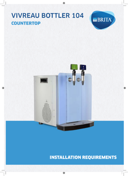 BRITA Vivreau Bottler 104 Specification