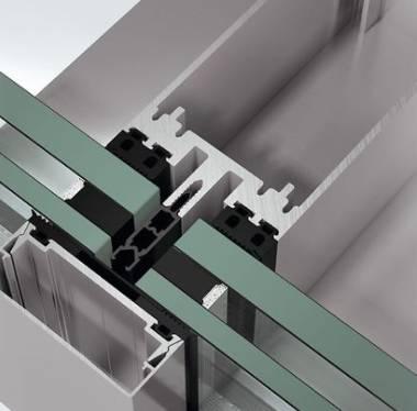 Blast-resistant stick curtain walling façade system - FW60+ XR