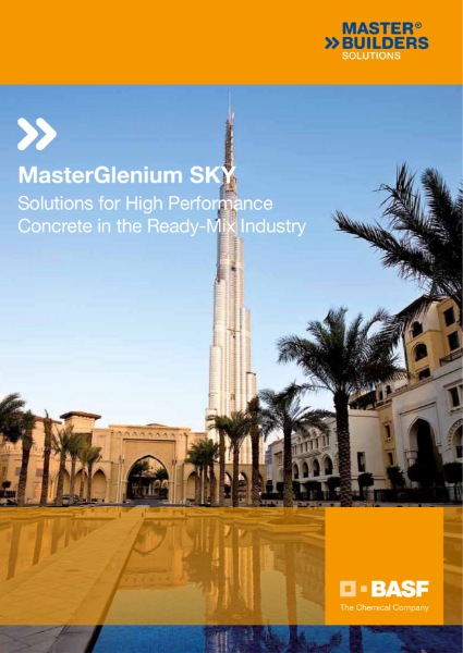 MasterGlenium Sky - Solutions for High Performance Concrete in the Ready-Mix Industry