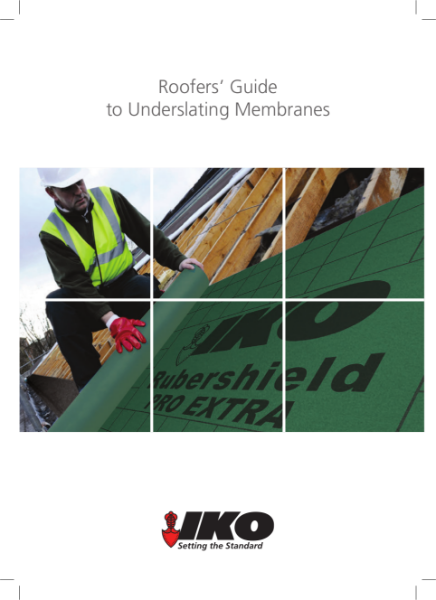 IKO Breathable Membrane - Guide to Underslating