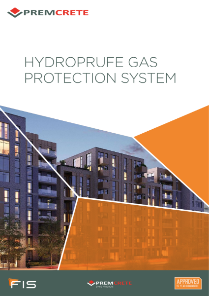 Premcrete Gas Protection to BS8485:2015