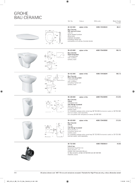 GROHE Specification 2020 Part 3
