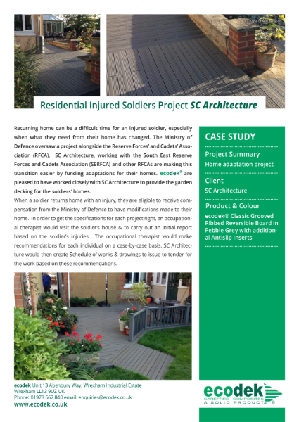ecodek Case Study - Residential Project