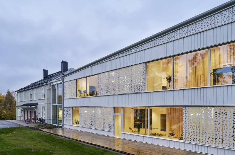 Sweden's Safe Sanctuary: 'House of Heroes' children's recovery centre is built with MEDITE® TRICOYA® EXTREME